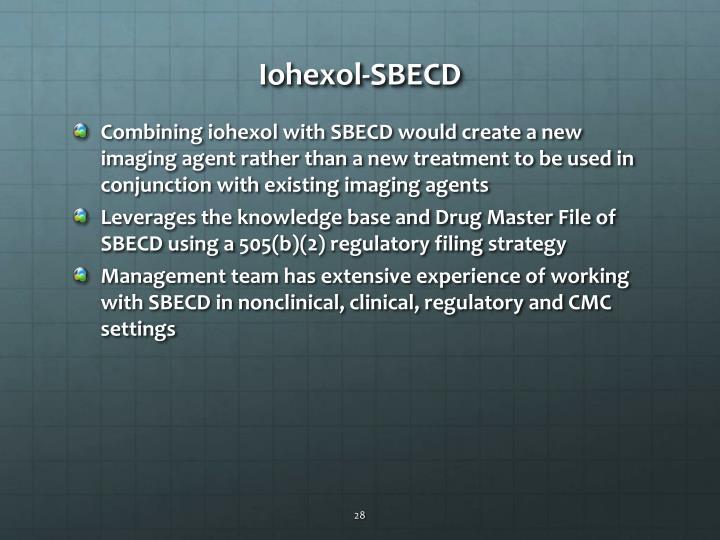 Iohexol-SBECD