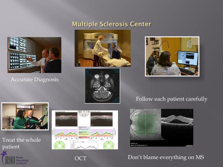 Multiple Sclerosis Center