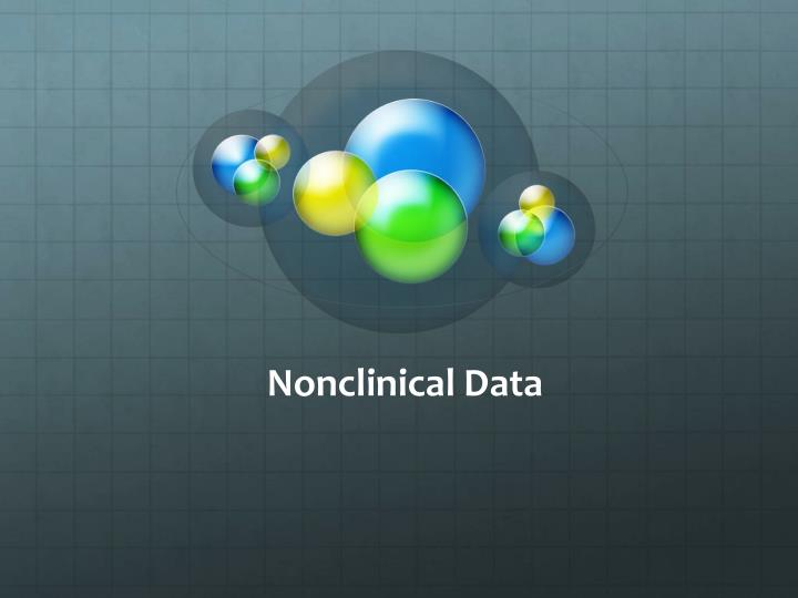 Nonclinical