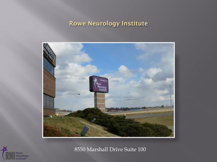 Rowe Neurology Institute
