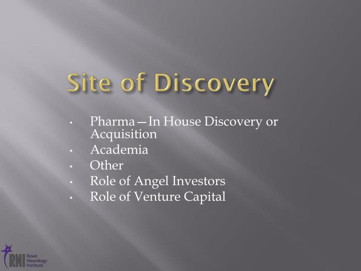 Site of Discovery
