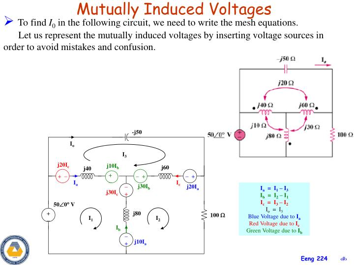 Mutually Induced Voltages