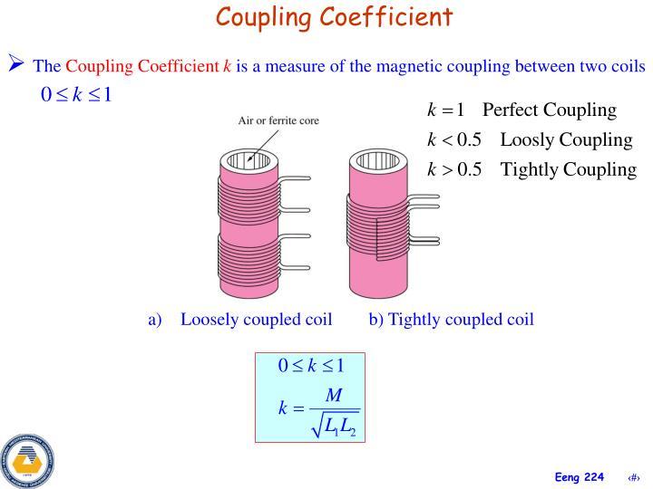 Coupling Coefficient