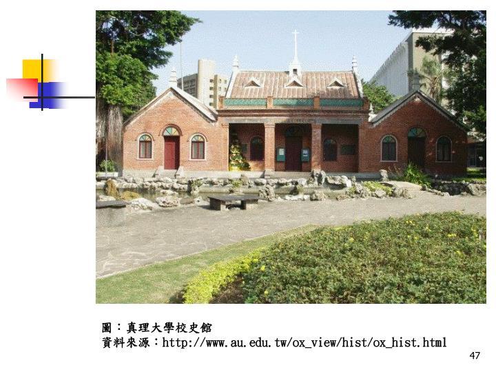 圖:真理大學校史館