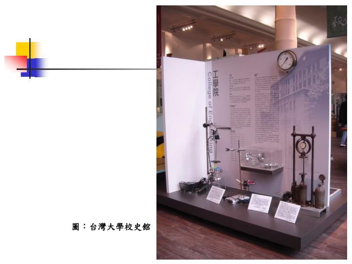 圖:台灣大學校史館