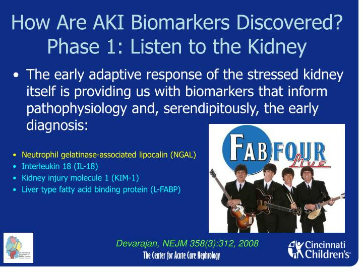 How Are AKI Biomarkers Discovered?