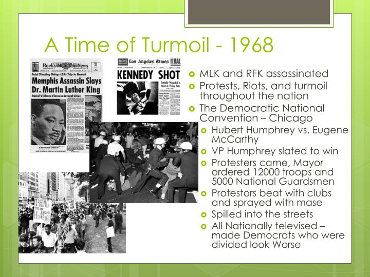 A Time of Turmoil - 1968