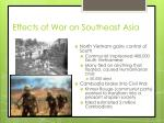 effects of war on southeast asia