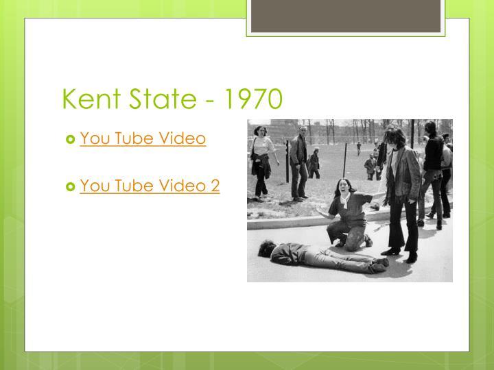 Kent State - 1970