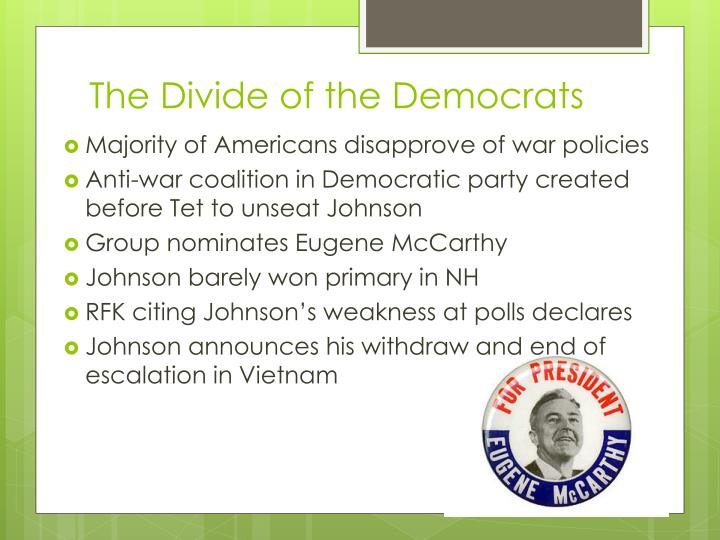 The Divide of the Democrats