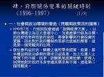 1996 1997 1 5