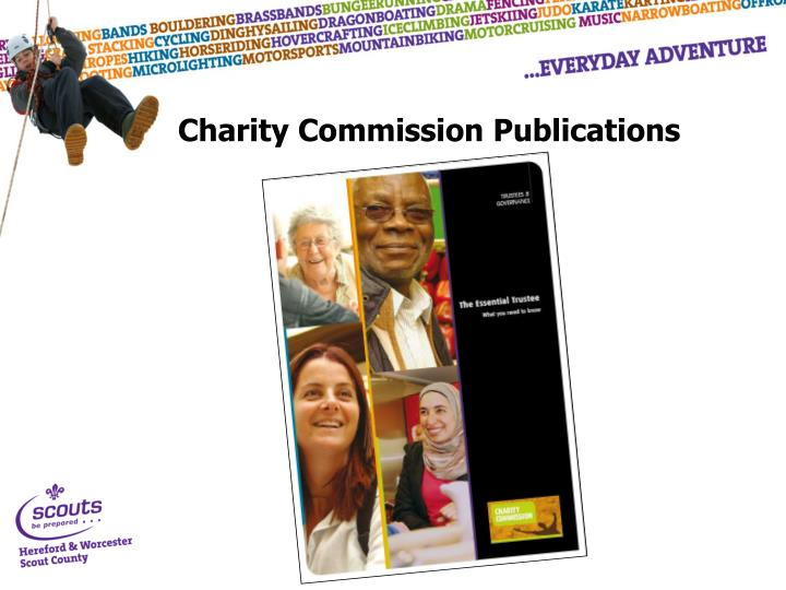 Charity Commission Publications