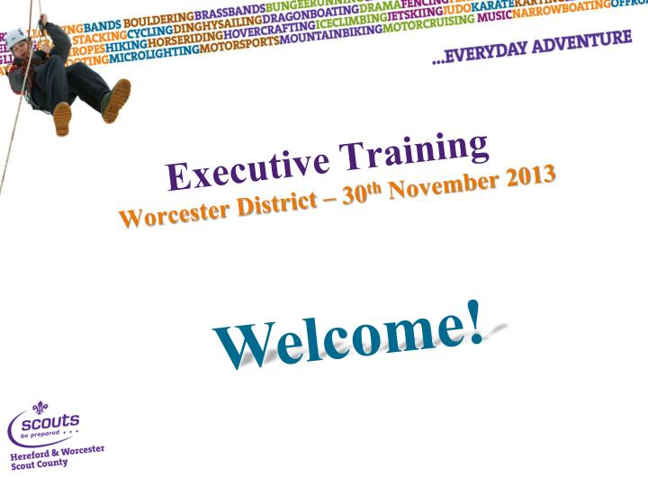 Executive training