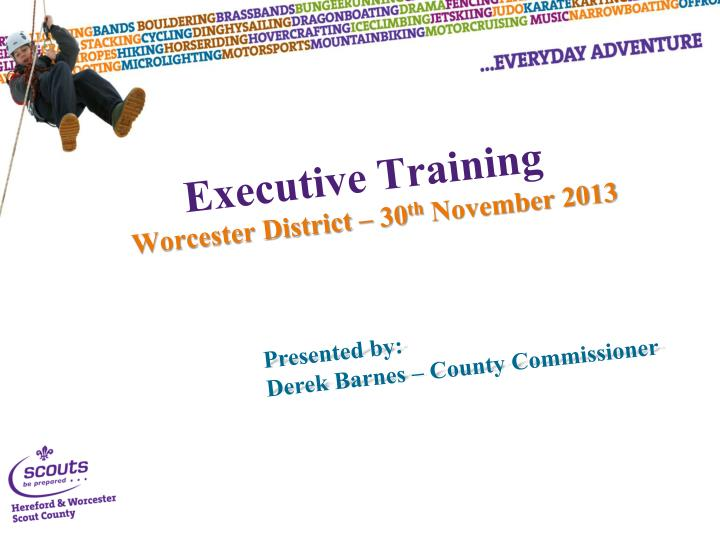Executive training1