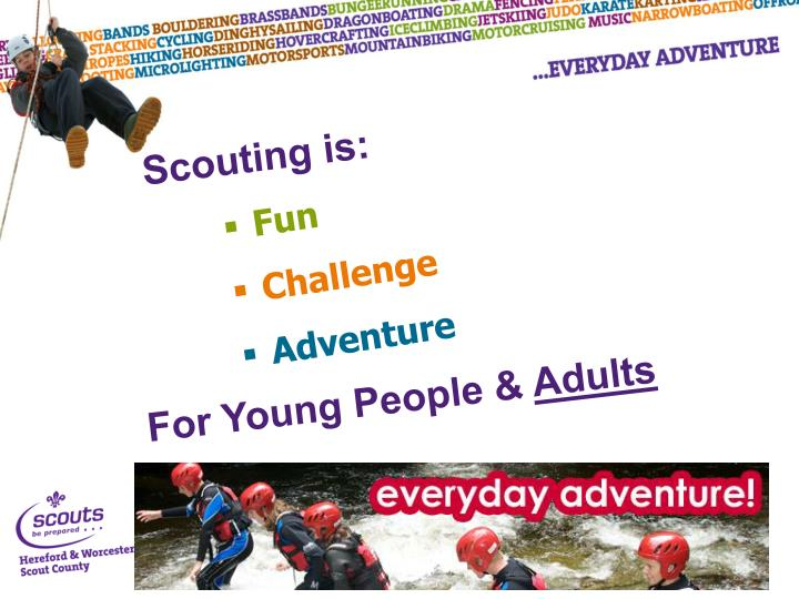 Scouting is: