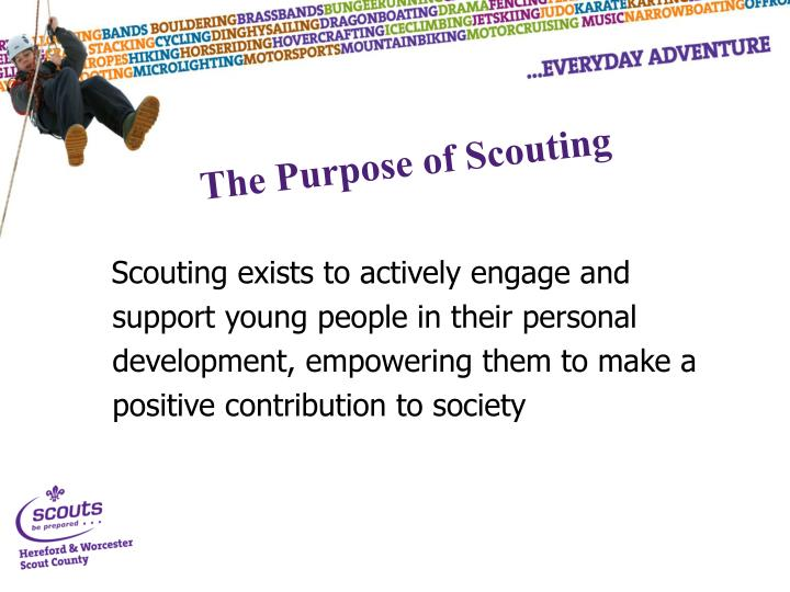 The Purpose of Scouting