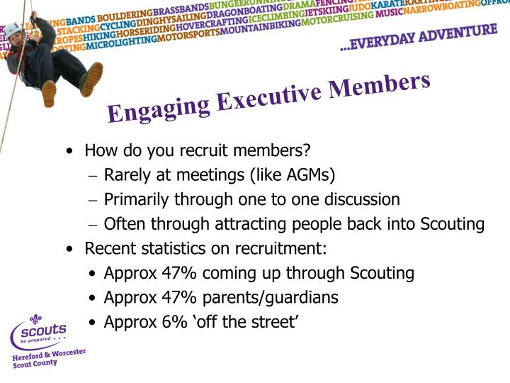 How do you recruit members?