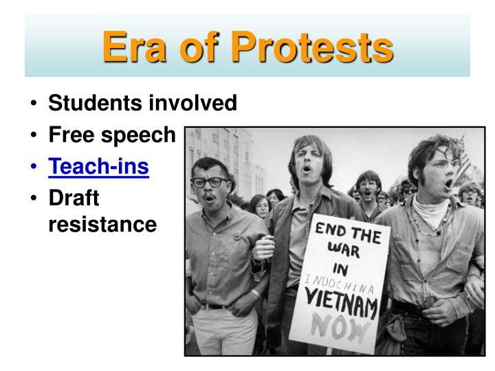 Era of Protests