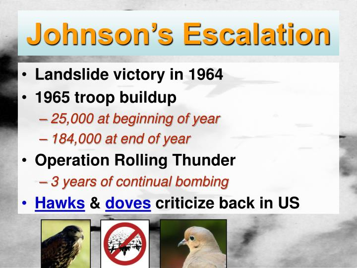 Johnson's Escalation