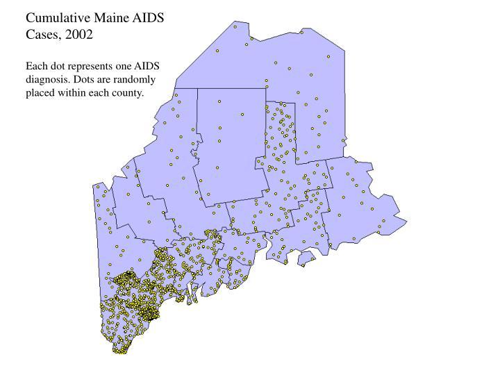 Cumulative Maine AIDS