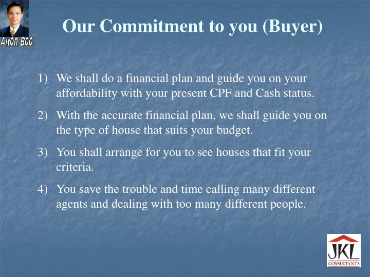 Our Commitment to you (Buyer)