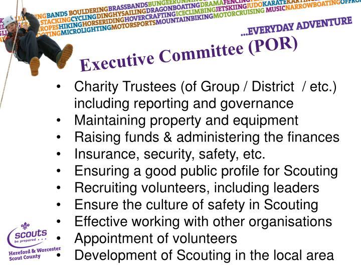 Executive Committee (POR)