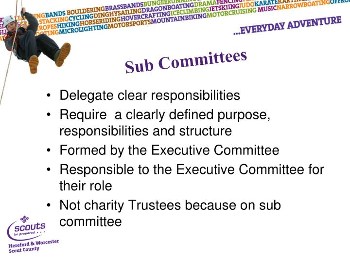 Sub Committees