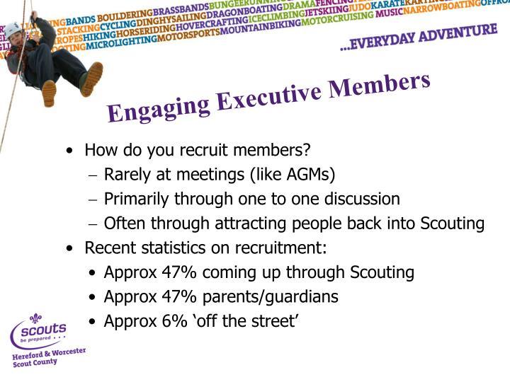 How do you recruit members?