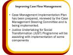 improving case flow management