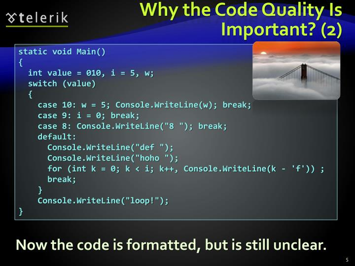 Why the Code Quality Is Important? (2)