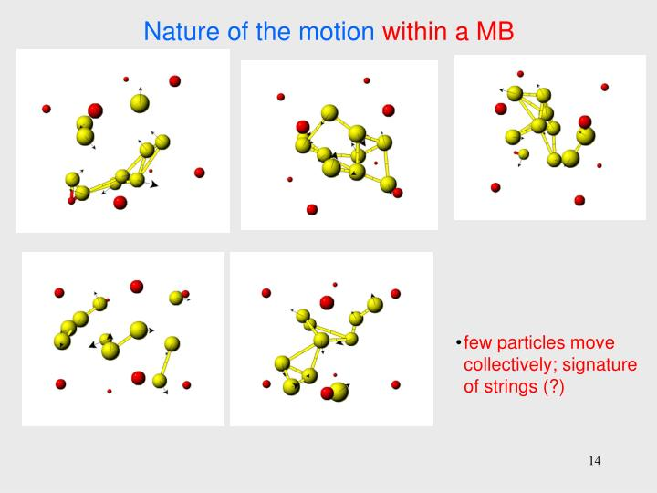 Nature of the motion