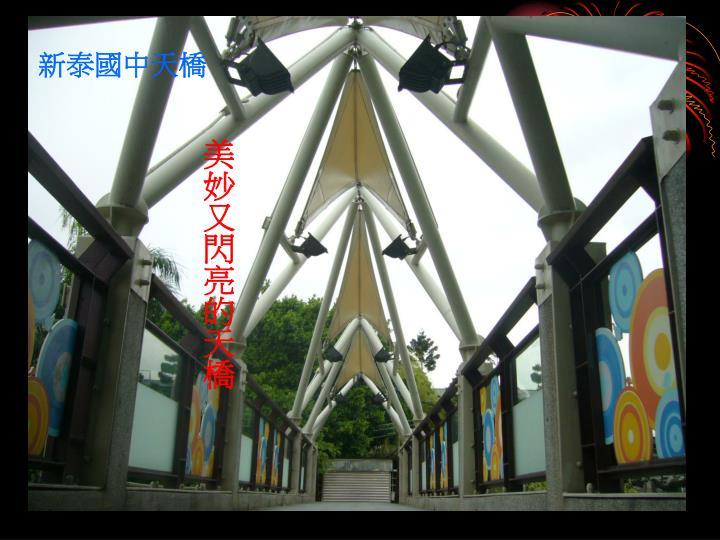 新泰國中天橋