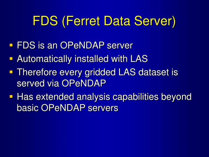 FDS (Ferret Data Server)