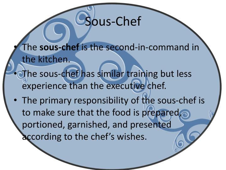 Sous-Chef