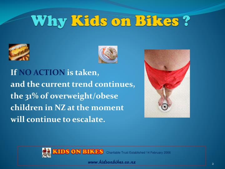 Why kids on bikes