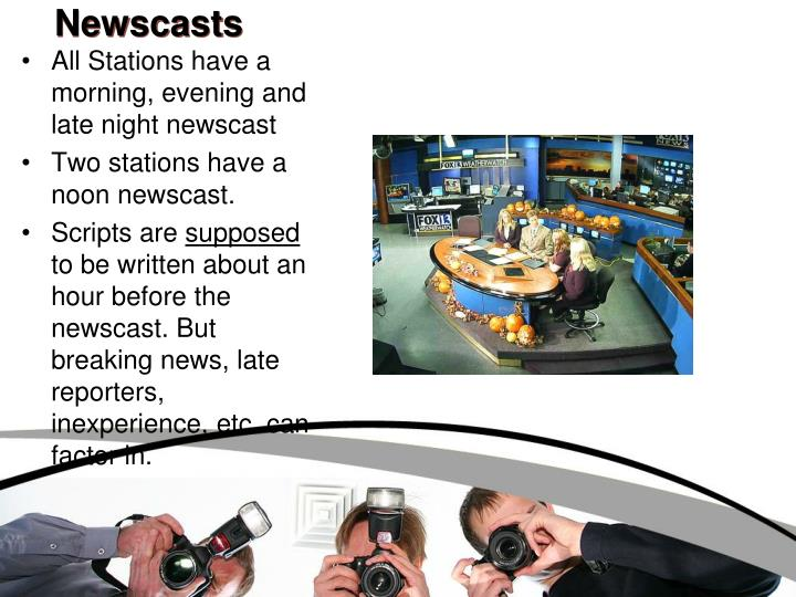 Newscasts
