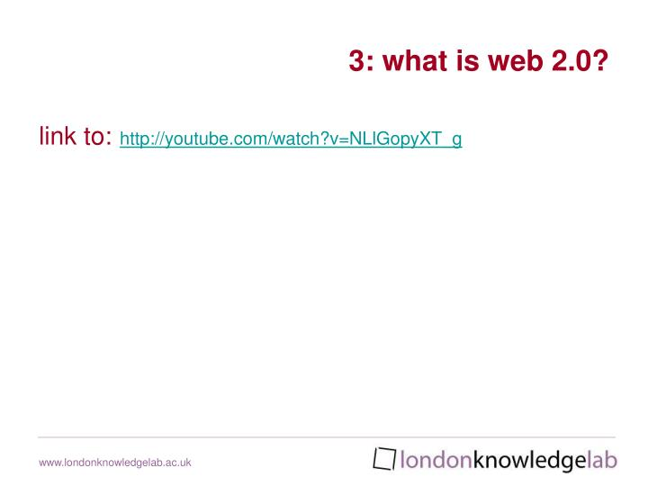 3: what is web 2.0?