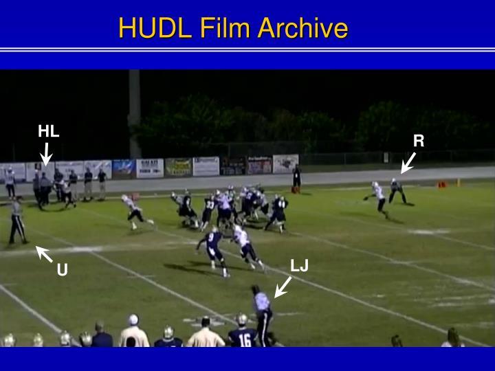 HUDL Film Archive