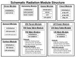 schematic radiation module structure