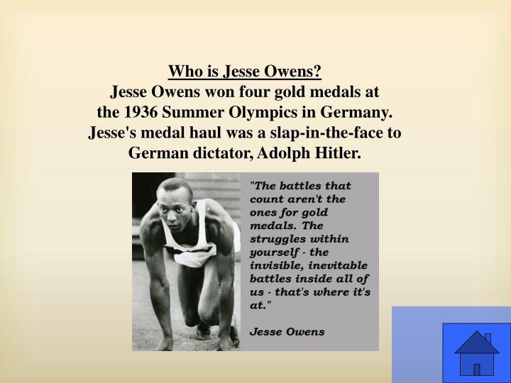 Who is Jesse Owens?