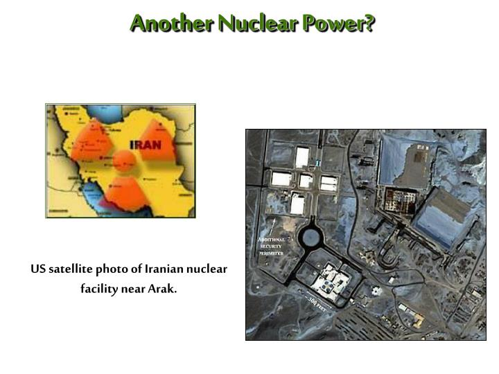Another Nuclear Power?