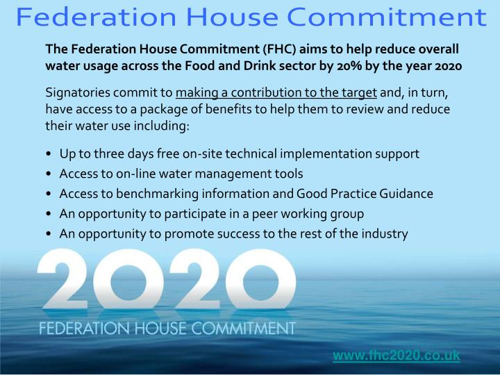Federation House Commitment