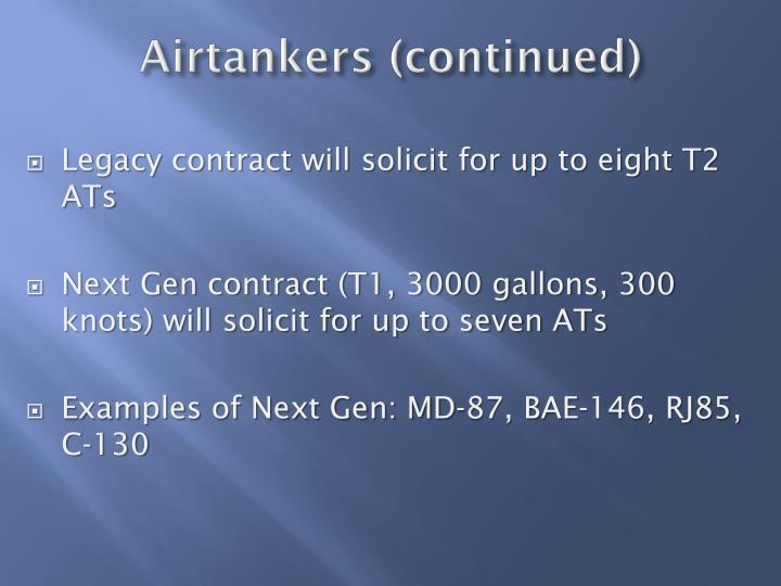 Airtankers