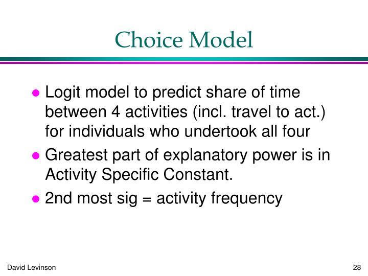 Choice Model
