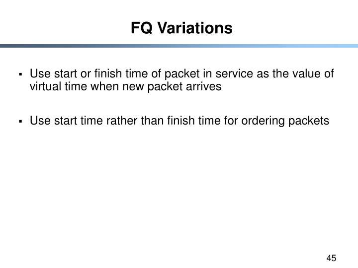 FQ Variations