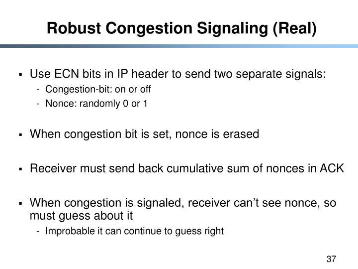 Robust Congestion Signaling (Real)