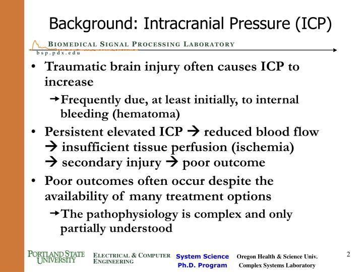 Background: Intracranial Pressure (ICP)