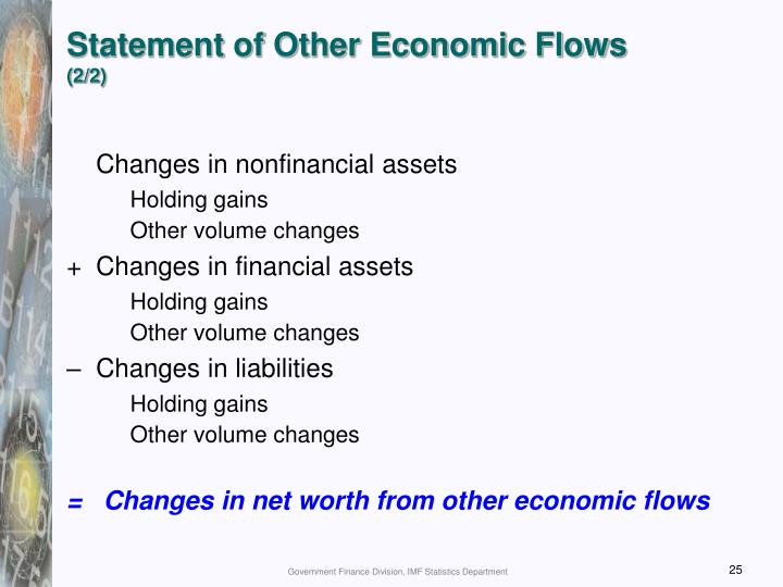 Statement of Other Economic Flows