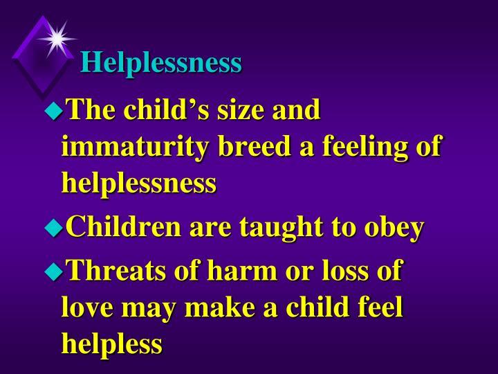Helplessness