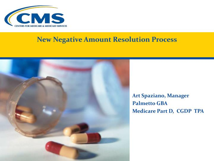 New Negative Amount Resolution Process